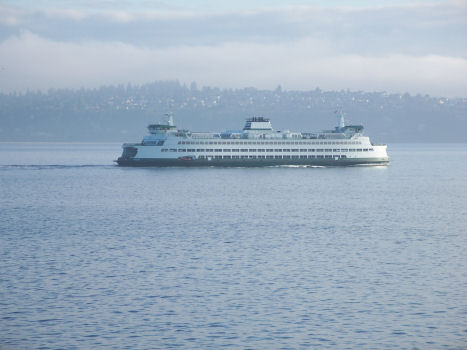 One of Seattle's ferry boats