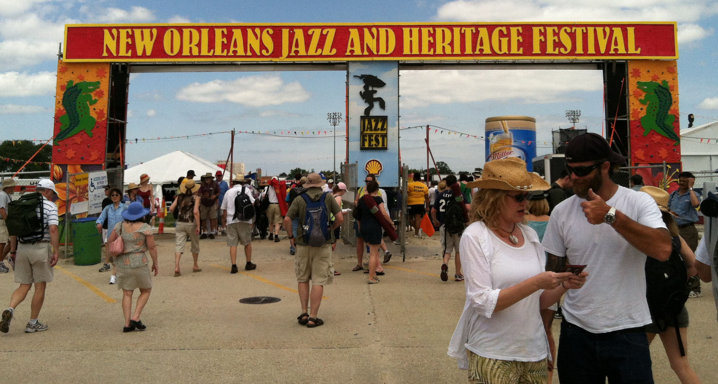 Welcome to Jazz Fest